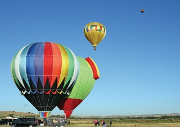 Balloonists take to the air during the second annual Moffat County Balloon Festival in 2011 at Loudy-Simpson Park. This year's event, scheduled for Saturday and Sunday, will feature 15 balloons, as well as multiple activities during the day.