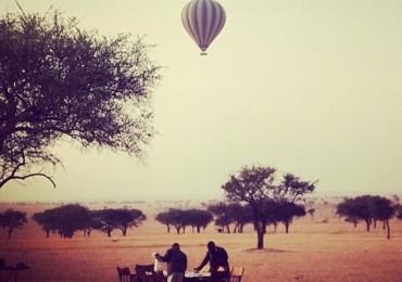 Balloon Over Africa