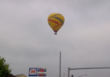 Suspect balloon.