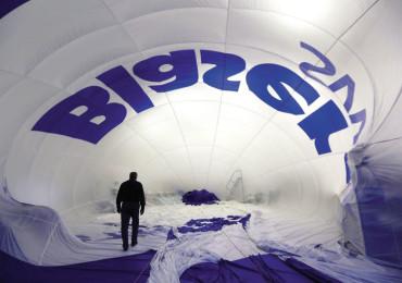 Inside a Lindstrand Balloon