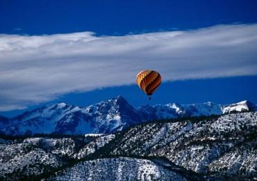 Sneffels Range Ridgeway in Colorado