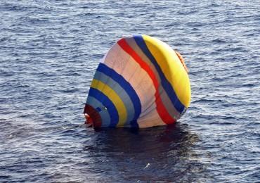 Senkakus hot air balloon.