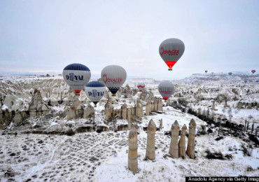 Hot Air Ballooning Four Seasons in Cappadocia
