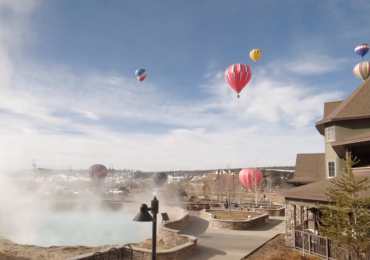 Balloons at Pagosa Springs Winterfest