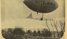 On This Day: The Suffragette Airship