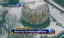 Winter Weather Destroys Channel 6 ZooBalloon