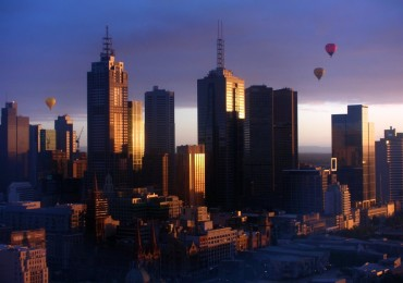 Balloons over Melbourne