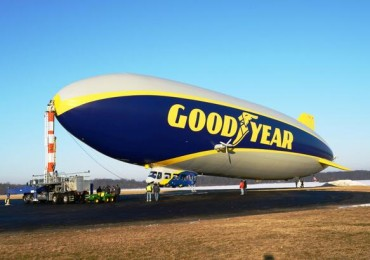 New Goodyear Blimp