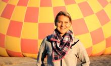 Lucie Safarova is a Hot Air Convert