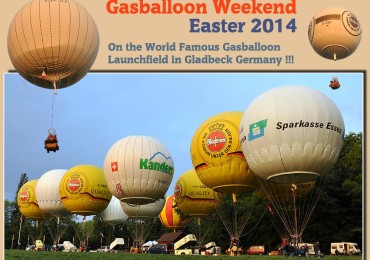 Gasballoon Weekend Easter 2014