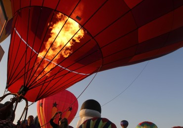 Balloons rise over Immokalee
