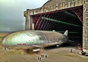 Aeroscraft and Hanger