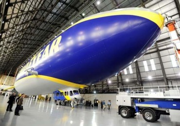 Un-named Goodyear Airship