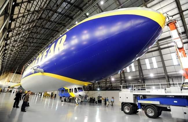 Un-named Goodyear Airship