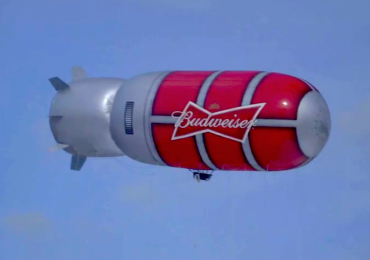 Labatts Blimp on the Loose