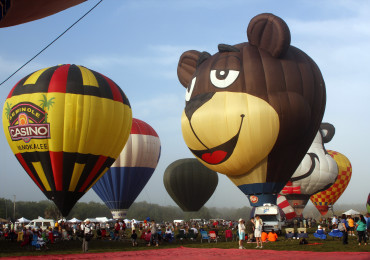 The third annual Balloons Over Paradise Festival will be held this Saturday at the Seminole Tribe Youth Ranch in Immokalee.
