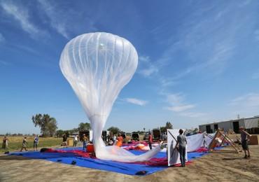 Google Loon Launch