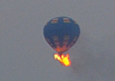 Balloon Fire Caroline County