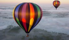 Top 10 hot air balloon rides worldwide
