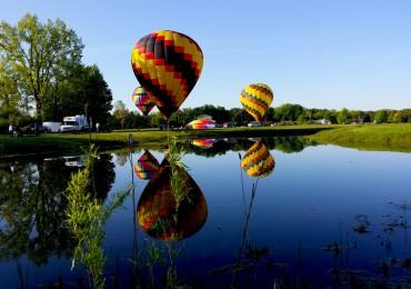 Bavarian Balloon reflections