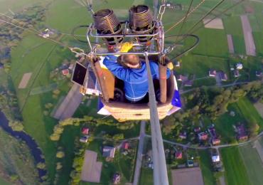 hot air balloon competition Krosno