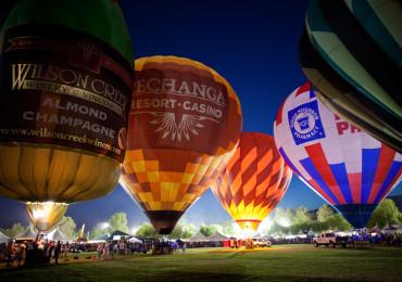 Temecula Valley Balloon Glow