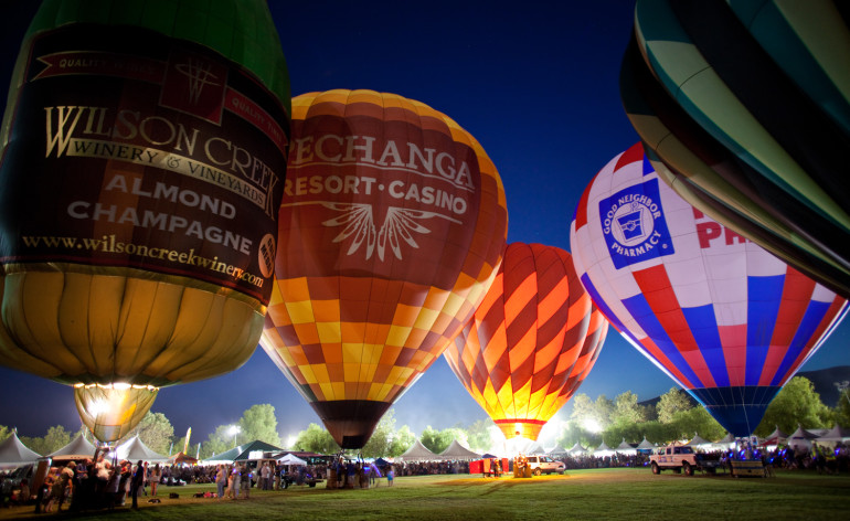 Temecula Valley Balloon Glow